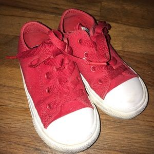 Red Chuck Taylor Converse